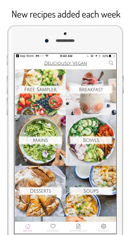 Deliciously Vegan Recipes screenshot-3