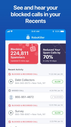 RoboKiller - Stop Spam Calls Screenshot
