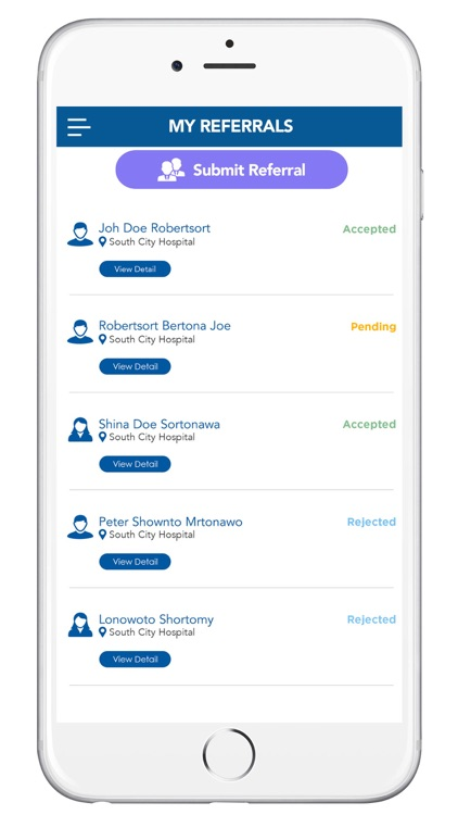 Lifecare Patient Referral App screenshot-4