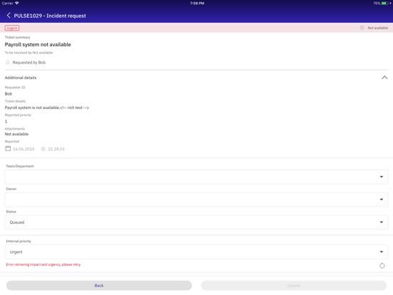 ... Screenshot #3 For IBM Control Desk ...