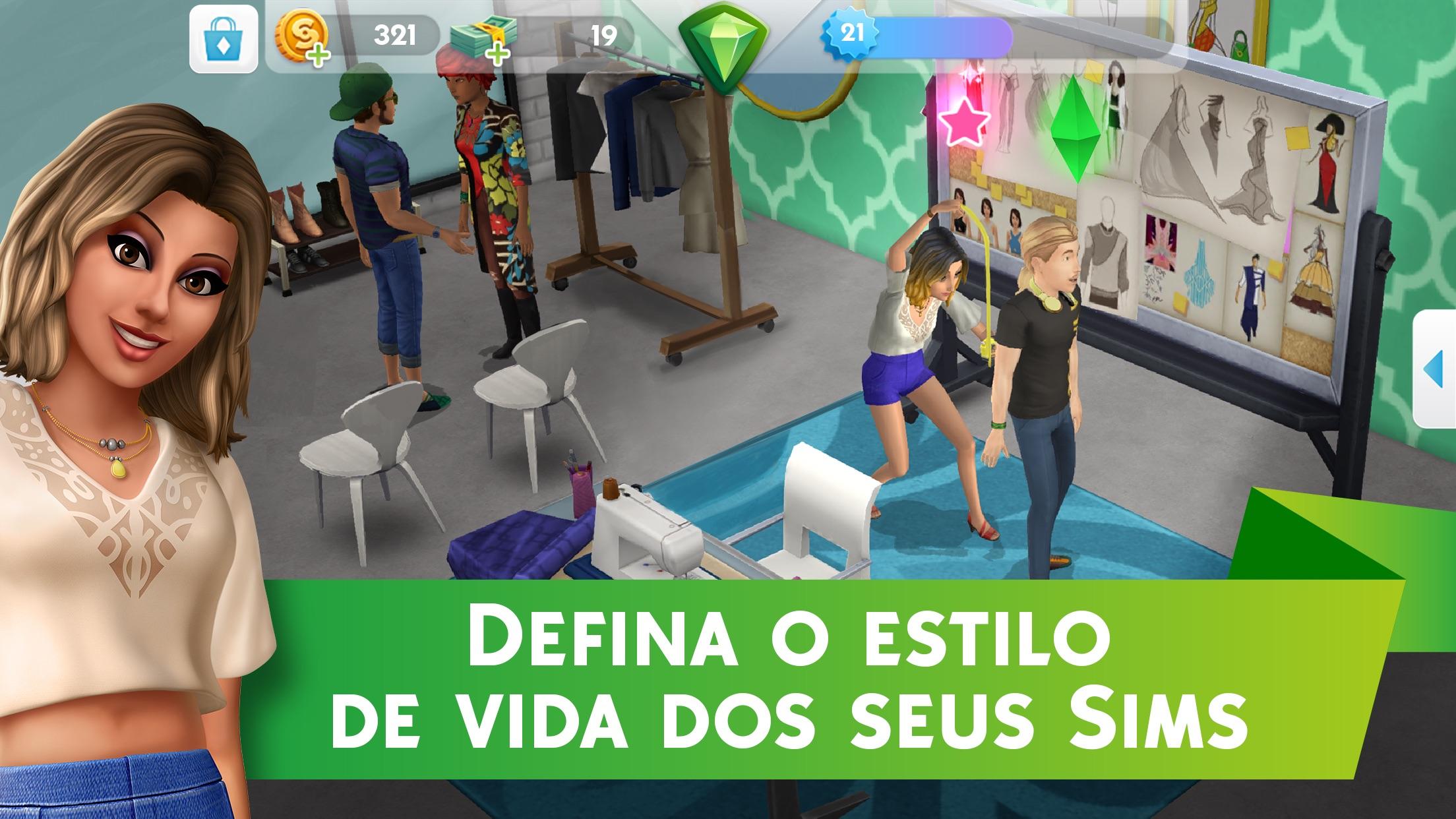 Screenshot do app The Sims™ Mobile