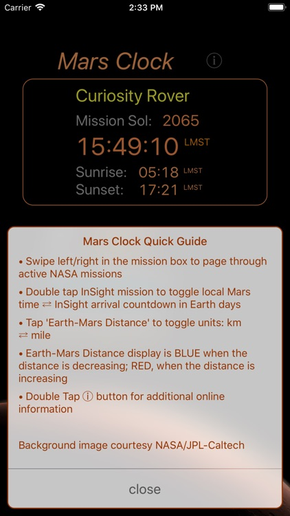 Mars-Clock screenshot-4