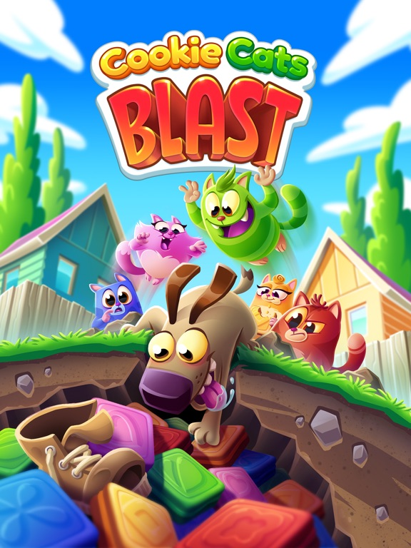 Игра Cookie Cats Blast