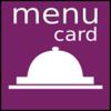 menu card restaurant menu