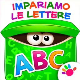 Alfabeto per bambini lettere a