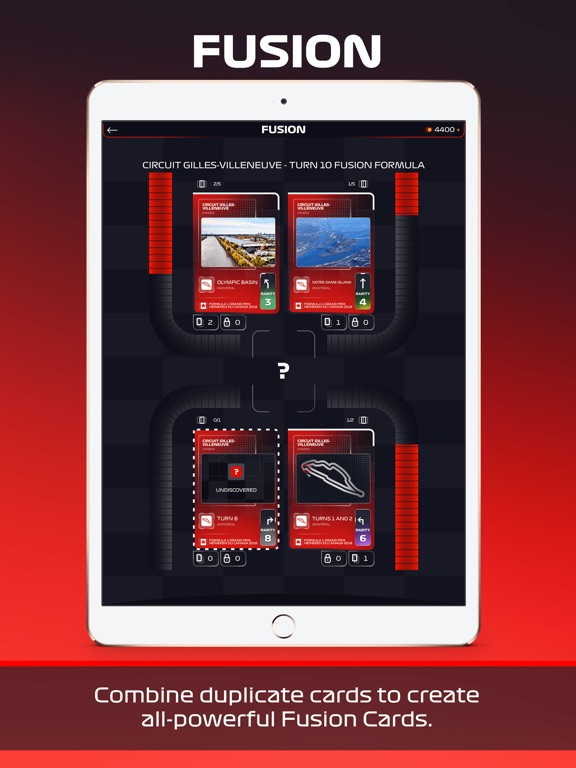 Screenshot 4 F1 Trading Card Game 2018