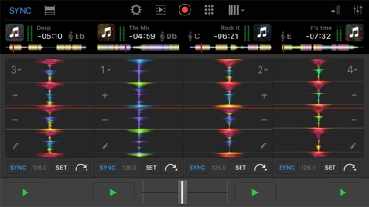 djay Pro for iPhone Screenshots