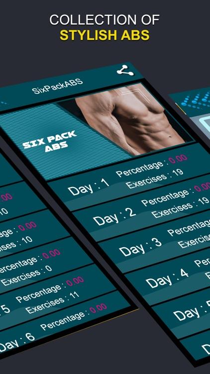 SixPackABS Daily Body Building screenshot-5