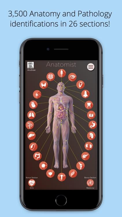 Anatomist – Anatomy Quiz Game screenshot-0