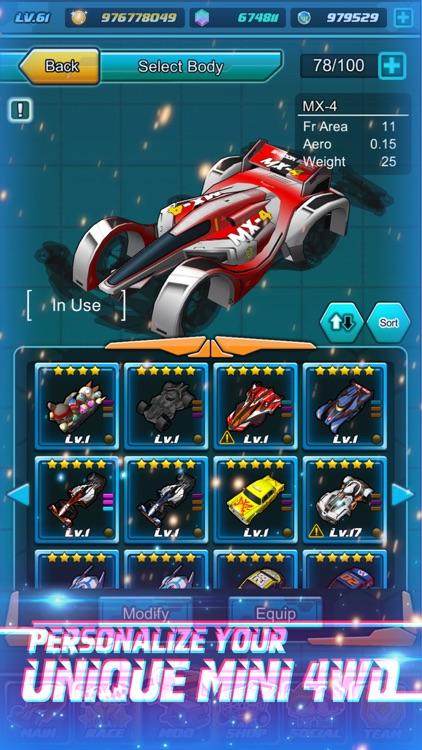 Mini 4WD Legend - Racing Sim screenshot-3
