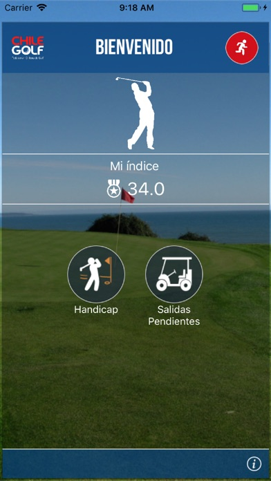 Screenshot for FedeGolf Chile in Chile App Store