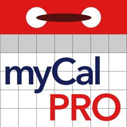 Ícone do app myCal PRO