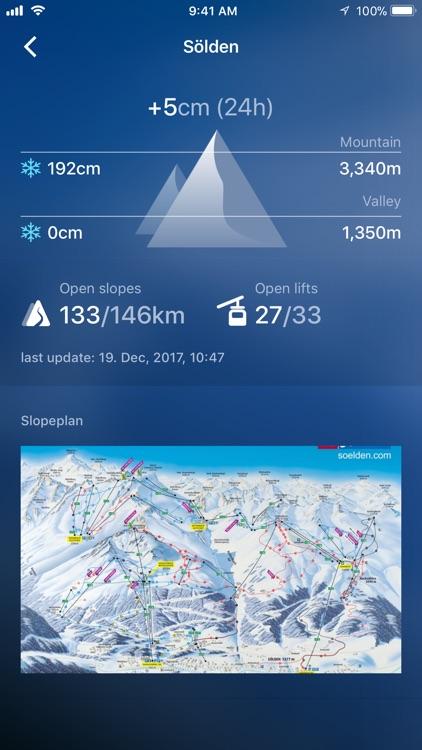 Snow Report Ski App