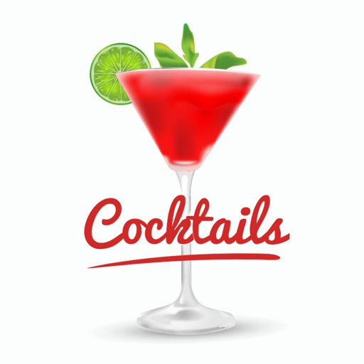 Alcohol Cocktail Bar Stickers
