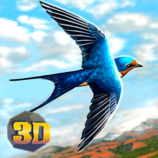 Swallow Bird Simulator 3D iOS App