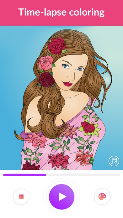 Colorgram: Adult coloring book for Windows