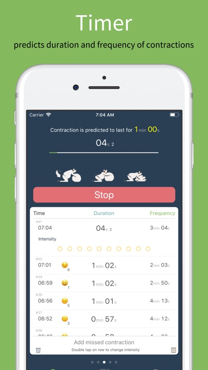 Birth Contraction Timer