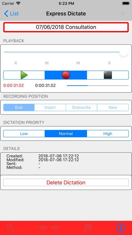 Express Dictate Professional screenshot-3