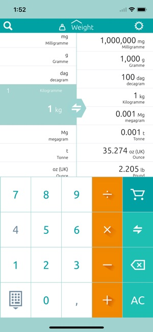 unit converter calculator on the app store