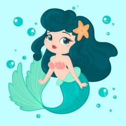 Cute Mermaid Stickers Pack