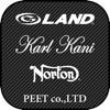 PEET公式アプリ(G-LAND、KarlKani、LTL)