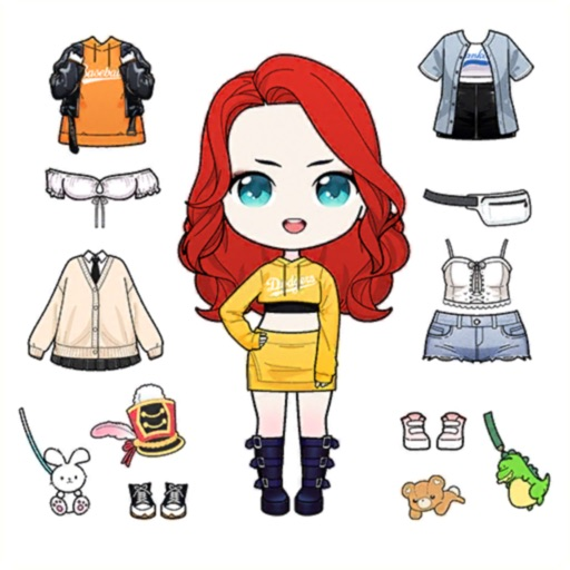 Anna Doll - Dress Up Game icon