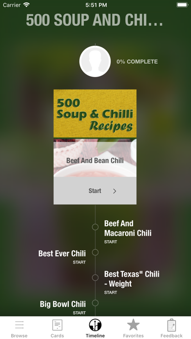 500 Soup Chili Recipes review screenshots