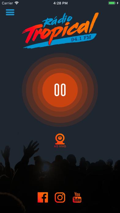 Rádio Tropical 94,1 FM screenshot one