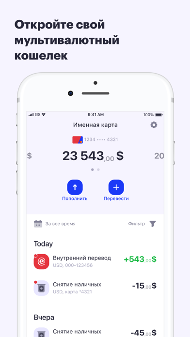 ePayments: wallet & bank cardСкриншоты 6