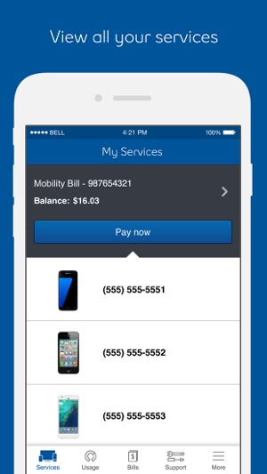 bell canada phone hook up