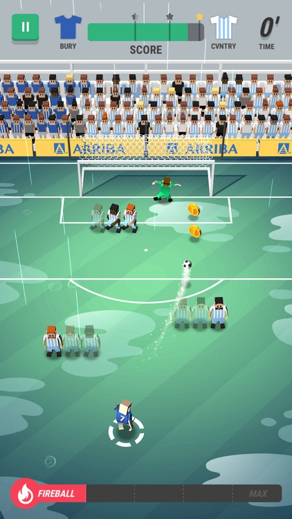Tiny Striker: World Football screenshot-3