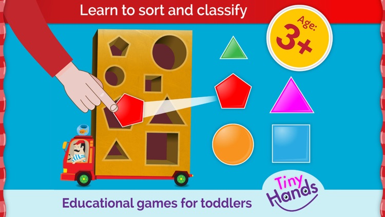 Toddler Games: puzzles, shapes