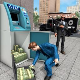 Bank ATM Cash Security Van