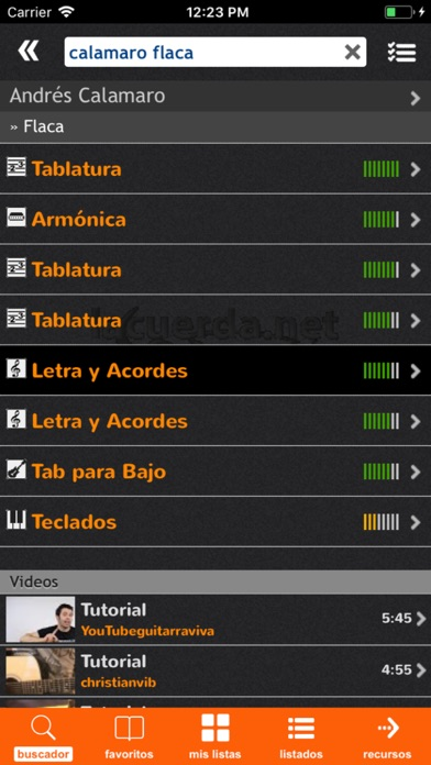 Screenshot for LaCuerda [PRO] in Peru App Store