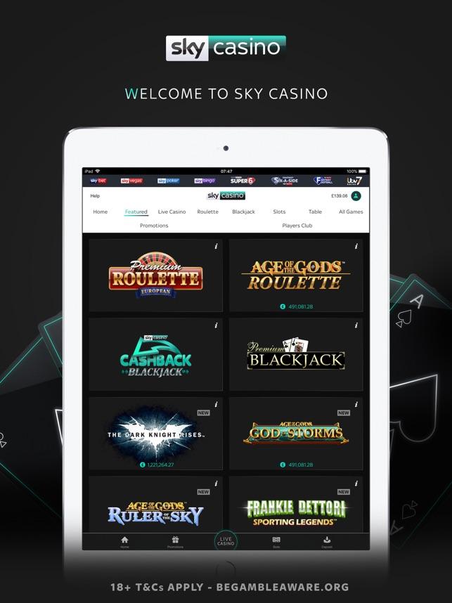 Sky casino roulette
