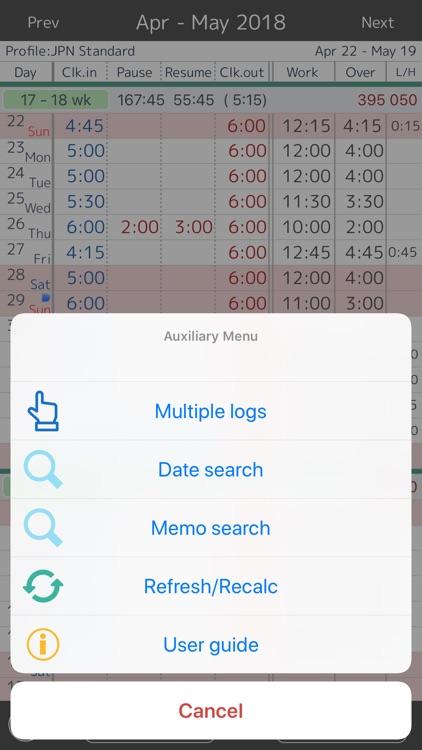 Work log time sheet by manabu hirata work log time sheet altavistaventures Image collections