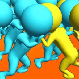 Crowd vs Crowd!