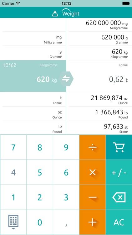 Unit converter & Conversion screenshot-4