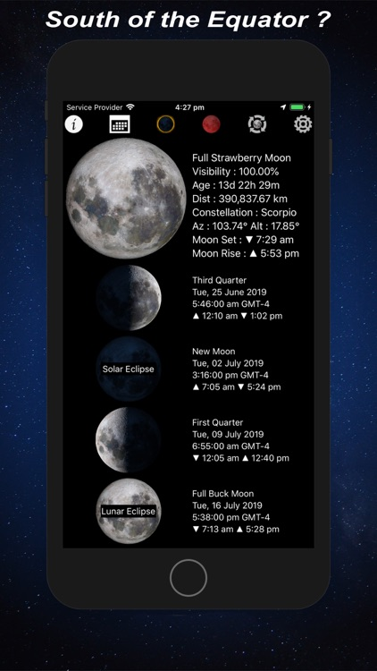 Lunar Phase - Moon Calendar screenshot-3