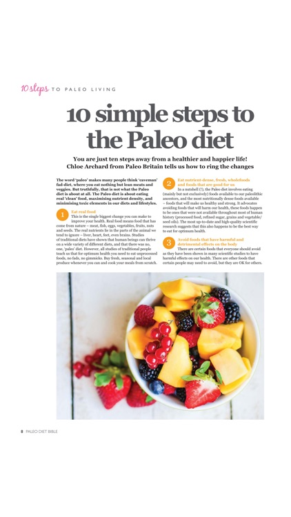 Paleo Diet Bible screenshot-4
