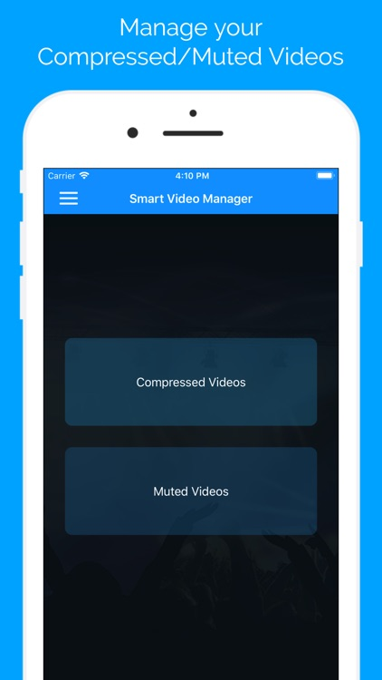 Smart Video Manager