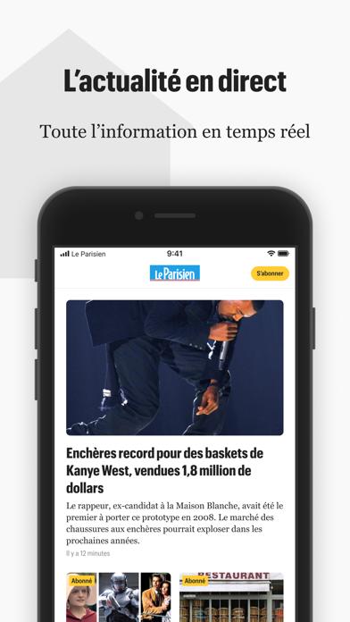 Le Parisien : l'info en directのおすすめ画像1