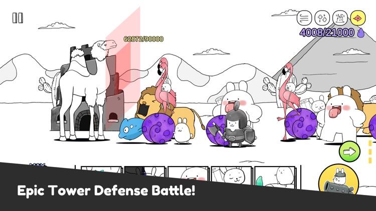 Battle Bunny: Tower Defense screenshot-0