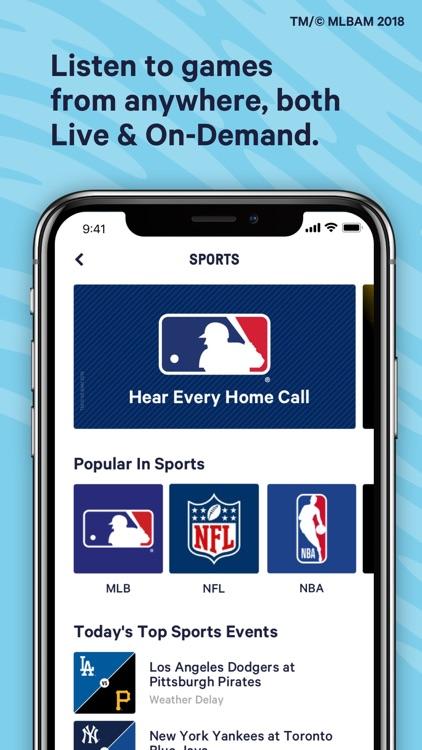 TuneIn: Radio, NFL & Podcasts screenshot-5