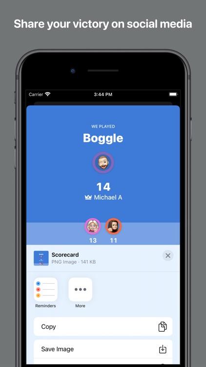 Scorecard: Point Tracker screenshot-7