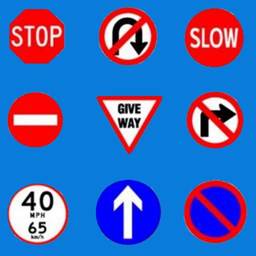 Road Signs & Practice Test UK