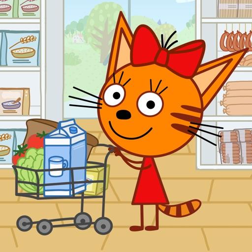 Kid-E-Cats: Supermarket Game!
