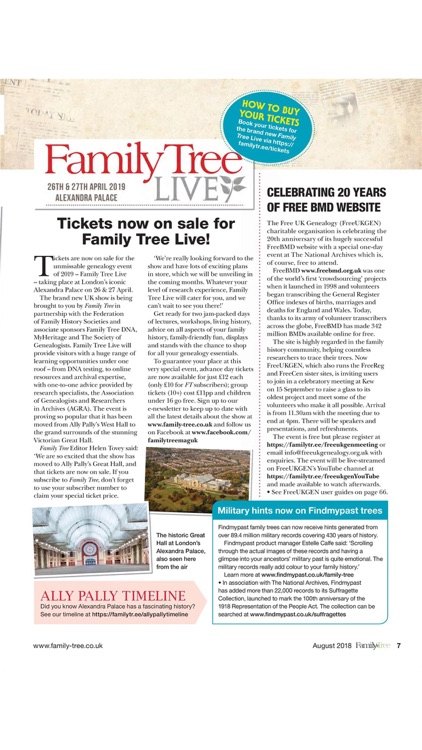 Family Tree Magazine.