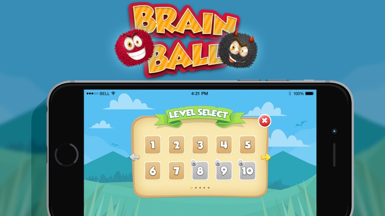 Brain Ball : Draw line Physics