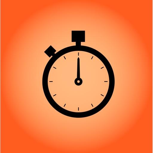 An Orange StopWatch icon